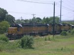 UP 3271, UP 3496, UP 5079, and UP 4679  5Aug2004  NB in SNEED with aggragate